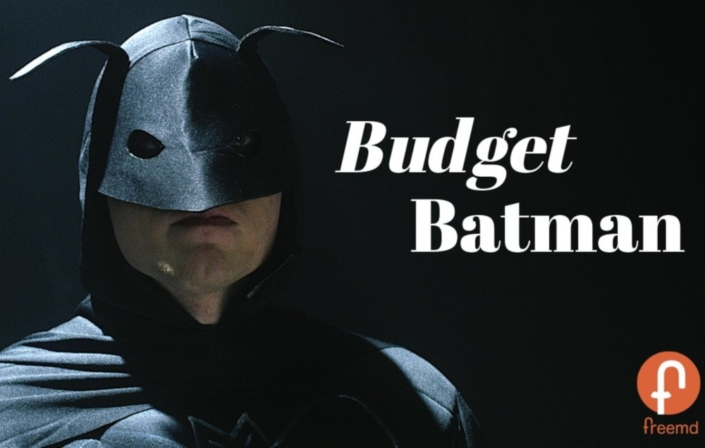 Batman is broke